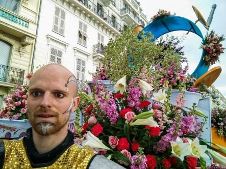 Grosse introspection sur la nature humaine lors de ces batailles de fleurs