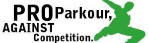 Pro parkour, against competition