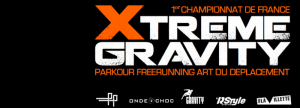 """Xtreme gravity, compétition organisée à la Villette, 1ers """"championnats de France"""" de parkour."""