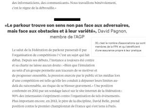 Pour Léquipe, par l'Ecole de journalistes de Grenoble en 2015. Lien du dossier ici : https://ejdg.atavist.com/passe-muraille