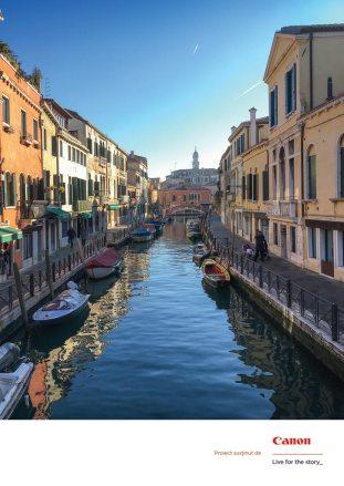 Santa Croce, Venezia, Italia, ianuarie 2017