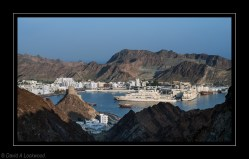 Muttrah harbour