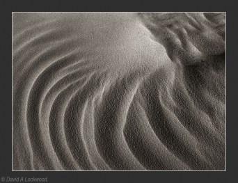 Sand swirls - brown toned