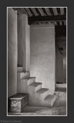 Steps & box Nizwa Fort