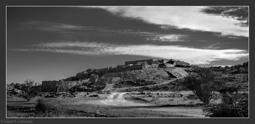 Archaeological site - Salut B&W