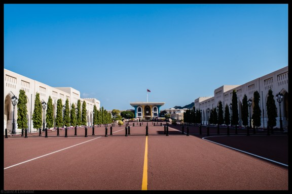 The Palace of H. M. Sultan Qaboos