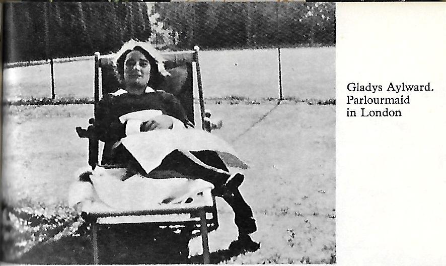 Gladys Aylward as a parlourmaid in London