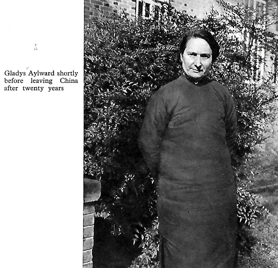 Gladys Aylward shortly before leaving China after 20 years
