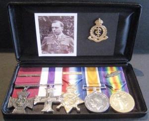 Noel Chavasse's medals
