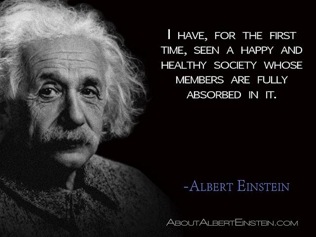 Einstein healthy society