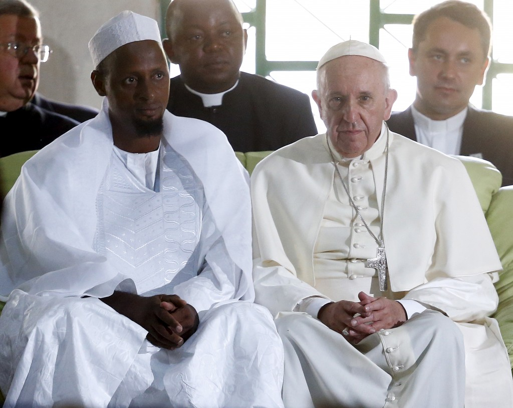 pope francis in Bangui
