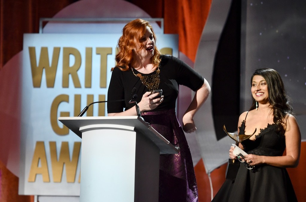 GORTIMER Writers Honored with Humanitas Prize and WGA Award