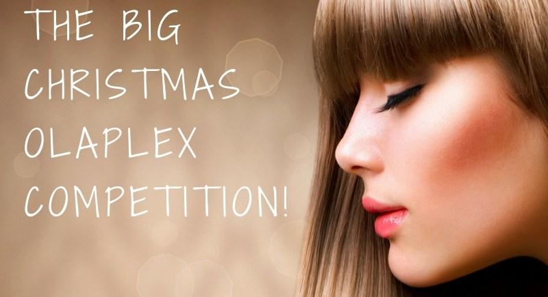 christmas olaplex competition page image