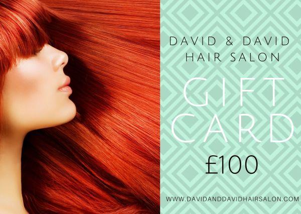David & David £100 gift card 2020