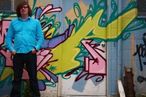 David Andrew Wiebe grafitti