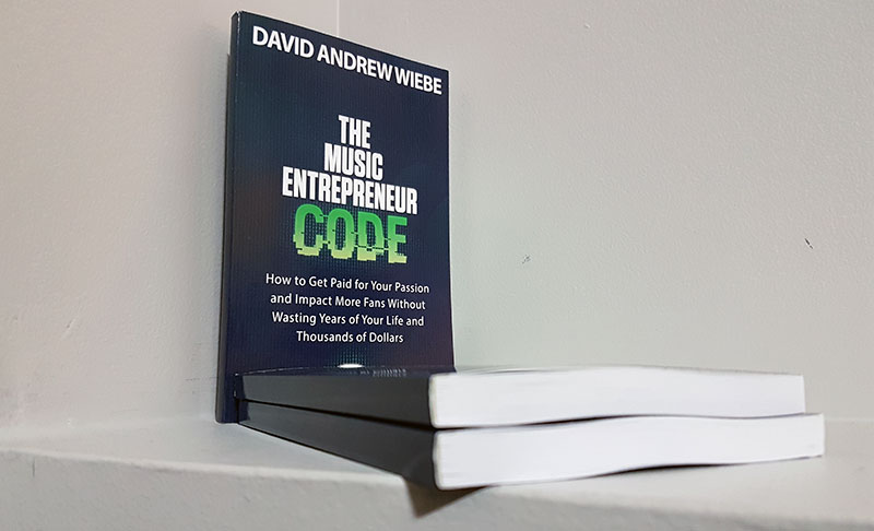 The Music Entrepreneur Code paperback