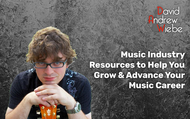 Music Industry Resources to Help You Grow & Advance Your Music Career