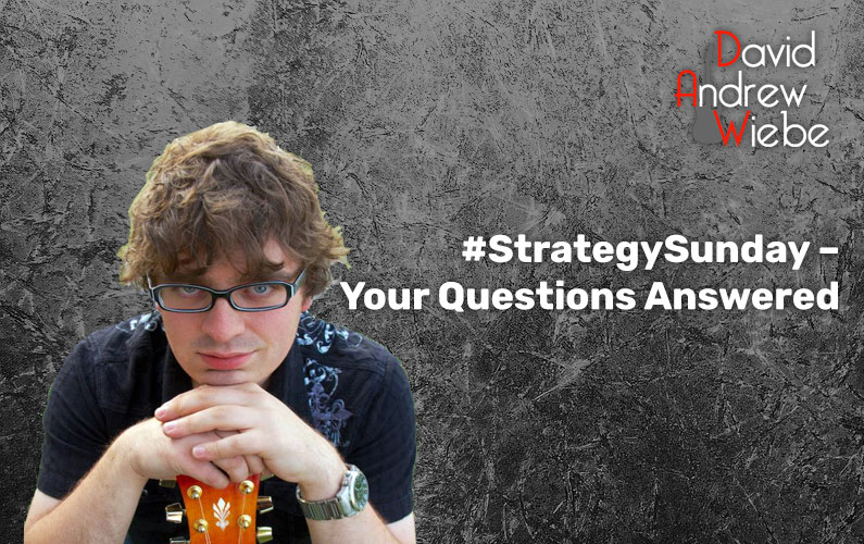 #StrategySunday – Your Questions Answered
