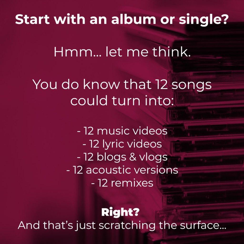 New artist: Single or album?