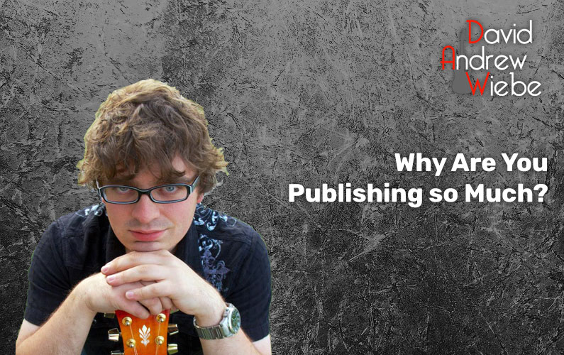 Why Are You Publishing so Much?