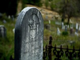 Grave of Irma Garibaldi, Downieville Cemetery, Downieville, California