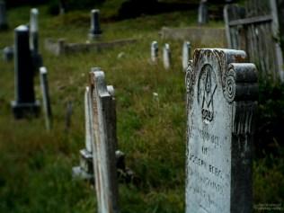 Grave of Joseph Berg, Downieville Cemetery, Downieville, California