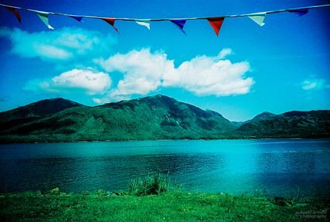 Banner, Metlakatla Island, Alaska. (Kodak EliteChrome 100 EB2 film, process C-41).