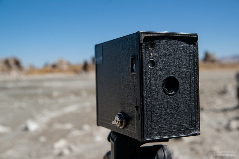 The Kodak Brownie 2A (1901-1935), at Mono Lake, California
