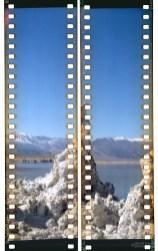 Tufa at Mono Lake (1) with the No. 3 Brownie Model B