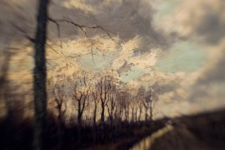 Borrowed Source: Tree and Path Detail, Arnold Marc Gorter, (1866-1933, Dutch) Canal Landscape with Trees, 19th Century, Crocker Art Museum.