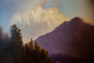 Borrowed Source: Cloud Detail, William Keith, (1838-1911, American), Mount Tamalpais, 1871, Crocker Art Museum.