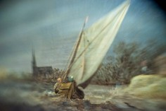 Borrowed Source: Sailboat Detail, Jan Van Goyen, (Dutch, 1596-1656), The Thunderstorm, 1641, Legion of Honor Museum.