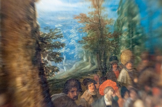 Borrowed Source: Wilderness Detail, Frans Francken II, (Flemish, 1581-1642) St. John The Baptist Preaching in the Wilderness, (n.d), 17th Century, Crocker Art Museum.