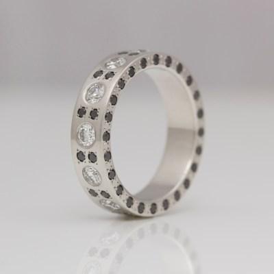 unique platinum diamond eternity ring