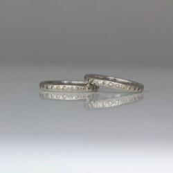 natural pink champagne diamond platinum ring