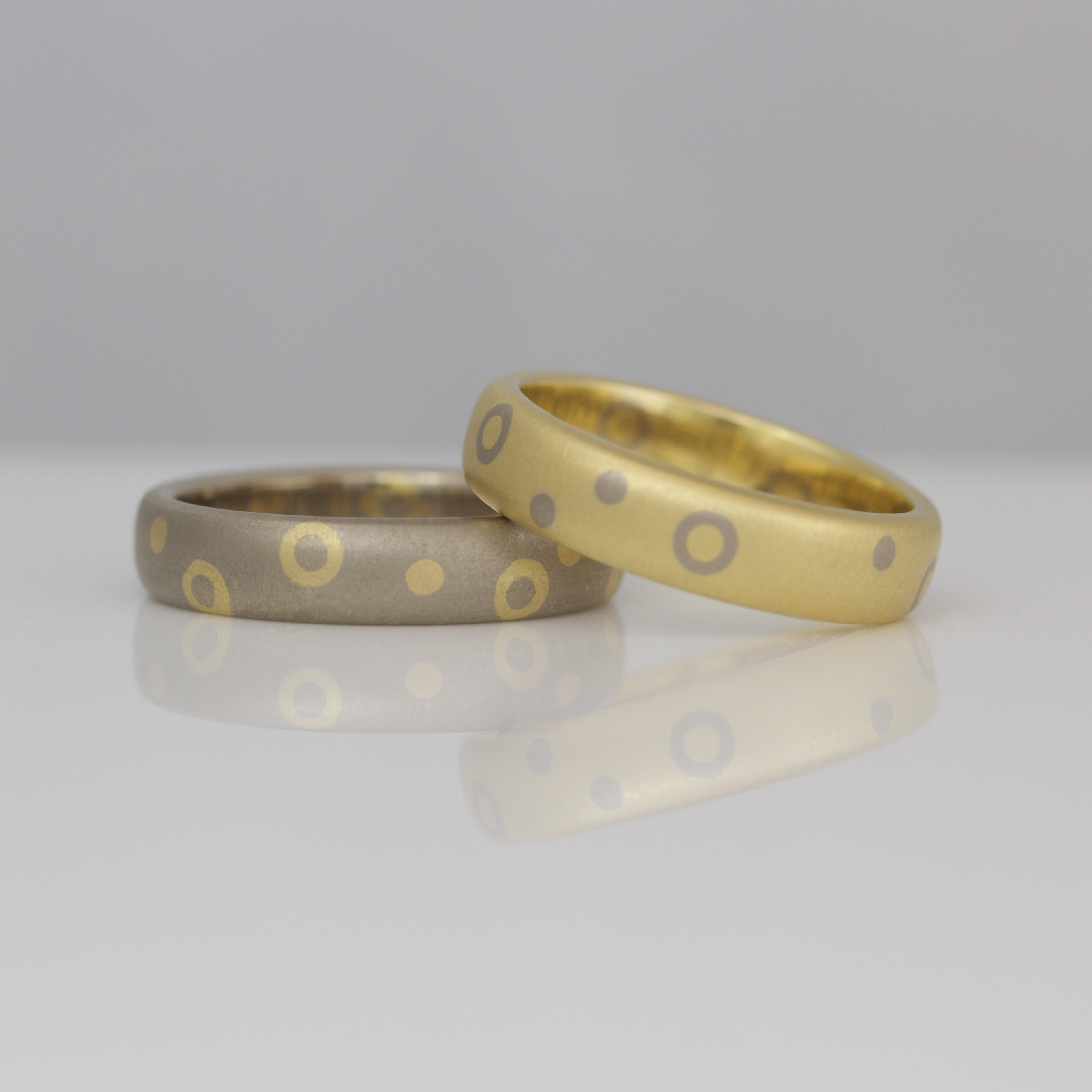 product ring diamond inlay rounded and gold apple contemporary wood wedding rings yellow with comfrot plum