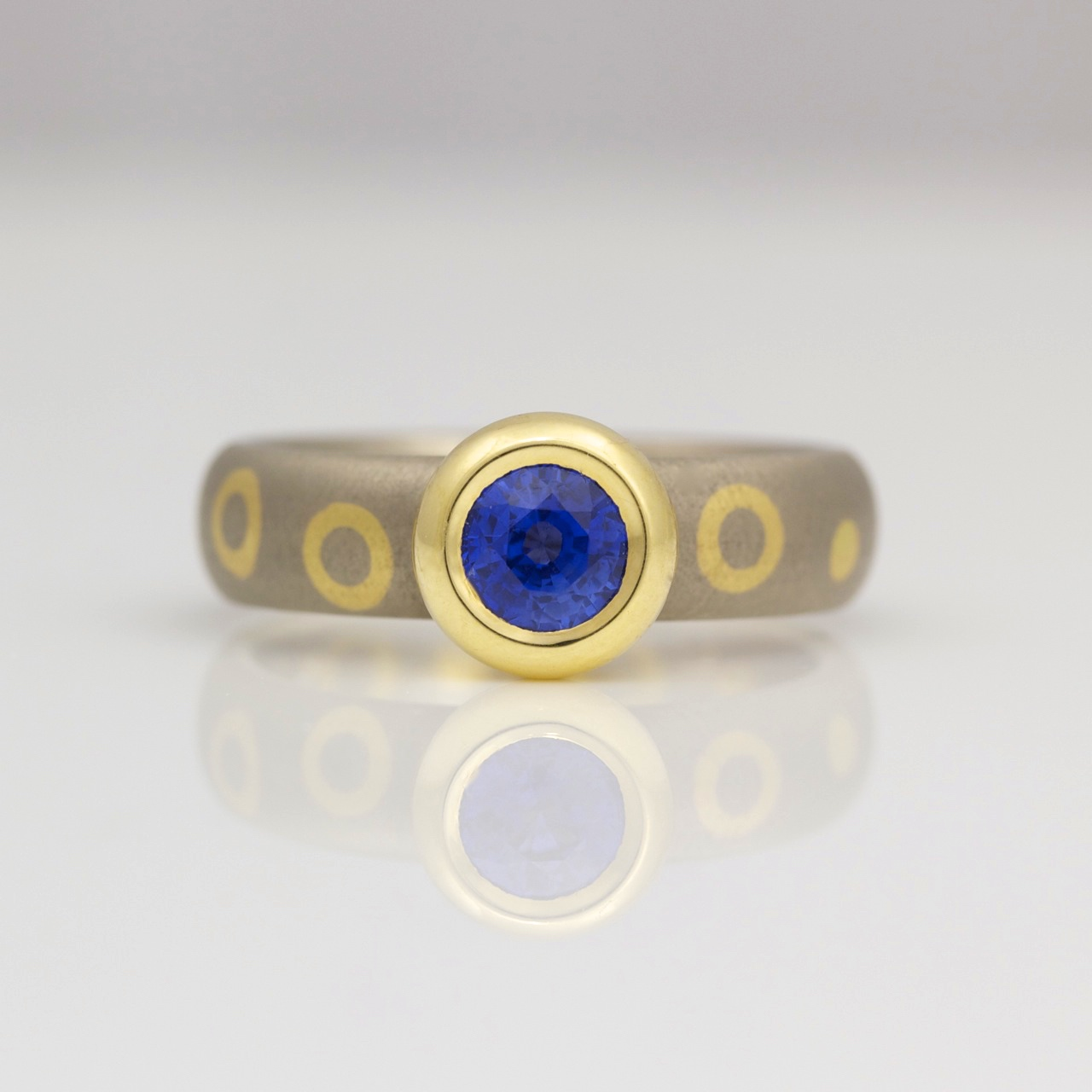 itm delicate yellow blue aa ct ring rose engagement diamond oval etsy gold carat vs halo collection solid g genuine sapphire band unique
