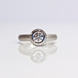 Ultimate diamond engagement ring