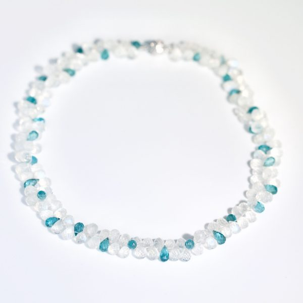 Apatite & Moonstone necklace