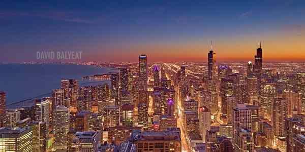 Heart Of America - Chicago Skyline David Balyeat