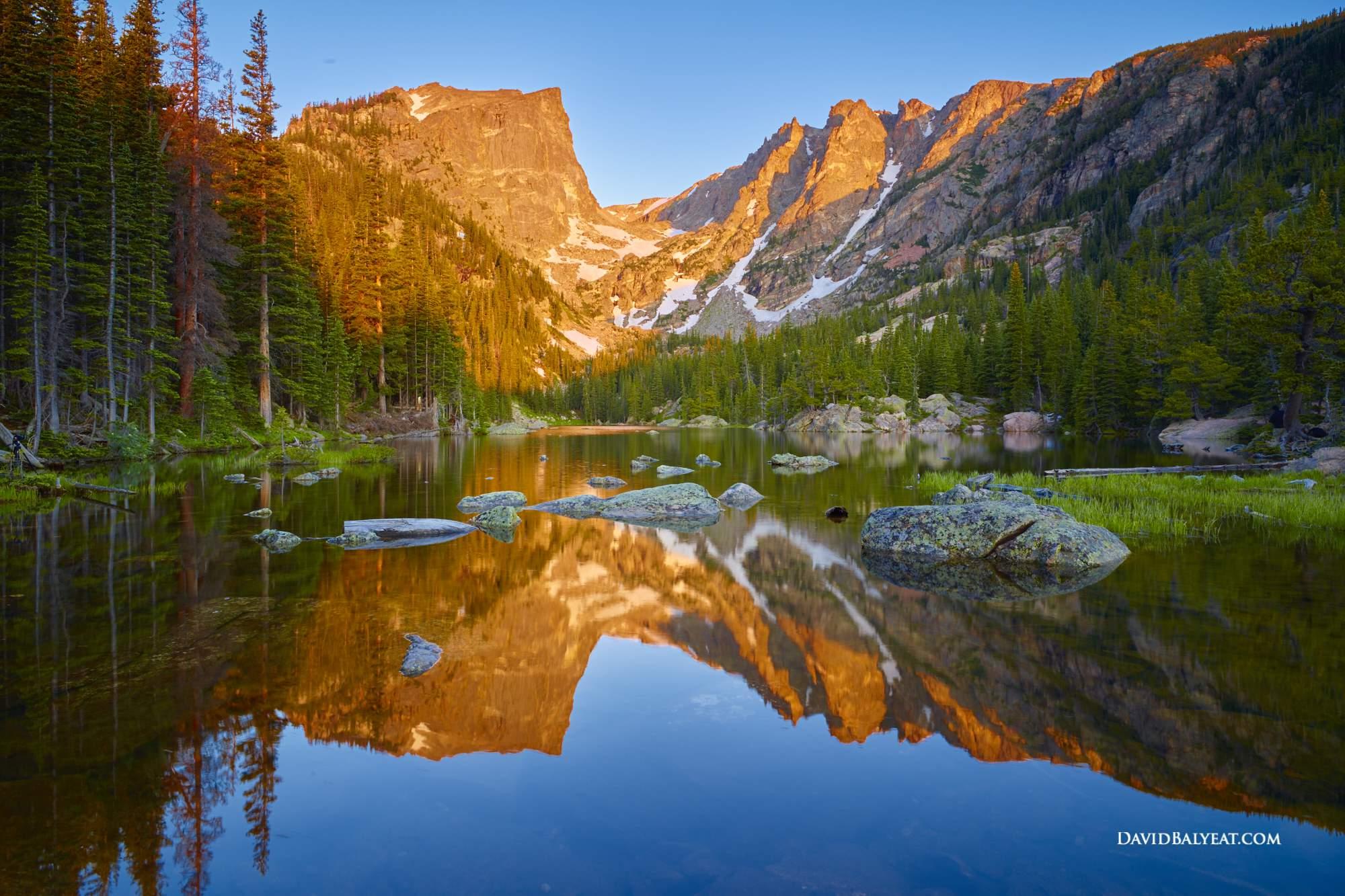 Hd Wallpaper Yosemite Fire Fall Dream Lake Colorado David Balyeat Photography