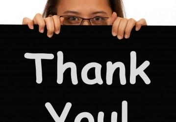 Three Ways to Say Thank You