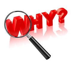 It's Time to Ask 'Why?'