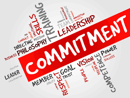 Leaders are Committed – Day in and Day Out