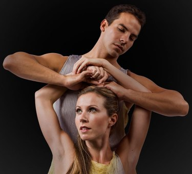 """State Street Ballet - Peter Pucci/Paul Simon """"Dream On By"""" publicity photo 8/24/12"""