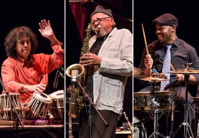 Sangam - Zakir Hussain, Chales Lloyd & Eric Harland 3/9/14 Lobero Theatre