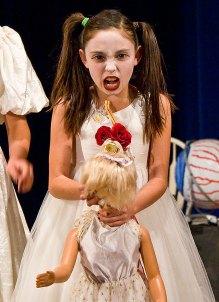 "Upstarts Youth Theater ""Dracula 93101"" 3/18/09 Peabody Charter School"