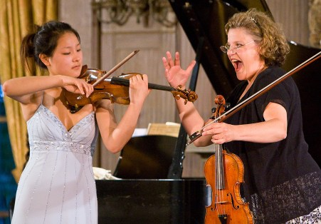 Music Academy of the West Masterclass, Kathleen Winkler & Susan Yang w/Kyung-A Yoo 6/27/07 Lehmann Hall