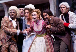 """Music Academy of the West - """"The Barber of Seville"""" 8/3/11 Granada Theatre"""