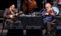 """Andy Statman and Itzhak Perlman - """"In the Fiddler's House"""" 20th Anniversary concert- UCSB Arts & Lectures 1/23/17 The GranadaTheatre"""